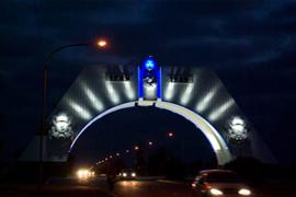 Комплекс электро-монтажных работ главных ворот г.Севастополя