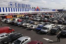 Стоительство гипермаркета ``Эпицентр`` в Симферополе